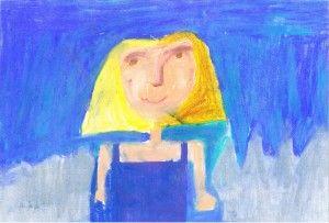 """Dziewczynka"" Natalia Urawska lat 11"