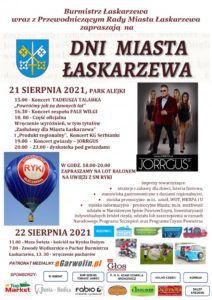 DniŁaskarzewa2021_plakat